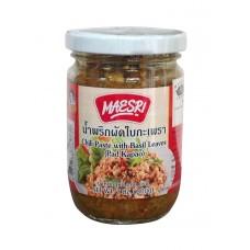 mae sri chilli paste+holy basil