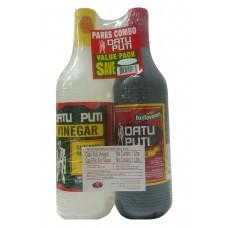 黑蔗醋+酱油