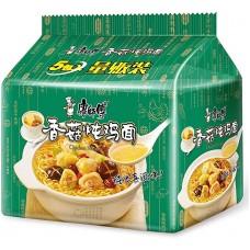 康师傅香菇炖鸡面(5连包)