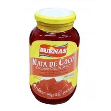 buenas coconut gel(nata de coco)red