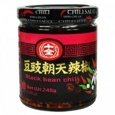 十全豆豉朝天辣椒酱