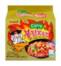 韩国三养超辣咖喱火鸡面(5连包)