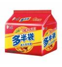 白象红烧牛肉面5连