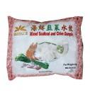 鸿字海鲜韭菜饺