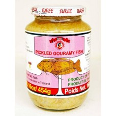 suree pickled gouramy fish prepare
