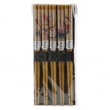 彩绘5对装筷子